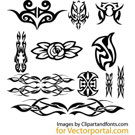 TRIBAL VECTOR GRAPHICS PACK.eps