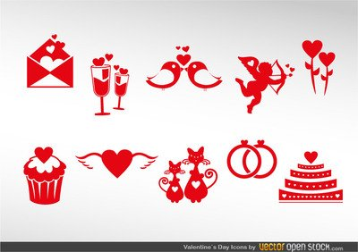 Valentine's Icon Set