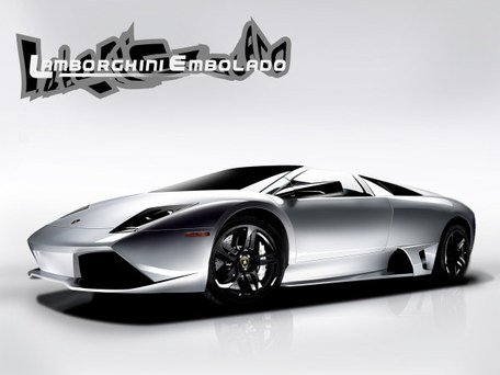 Vector Lamborghini sports car
