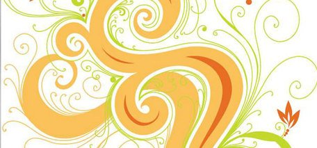 Swirl Flower Vector Graphic Floral Flower Swirl