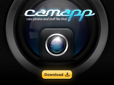 CamApp Iphone 圖示 psd