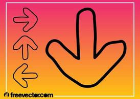 Direction Arrows Graphics