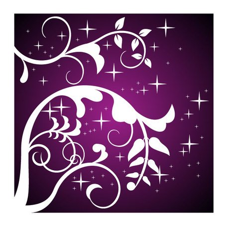 PURPLE FLORAL VECTOR DESIGN.eps