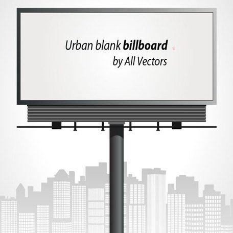 Urban Blank Billboard