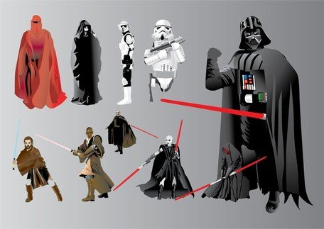 Star Wars illustrationer