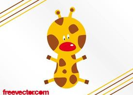 Cartoon Giraffe Layout