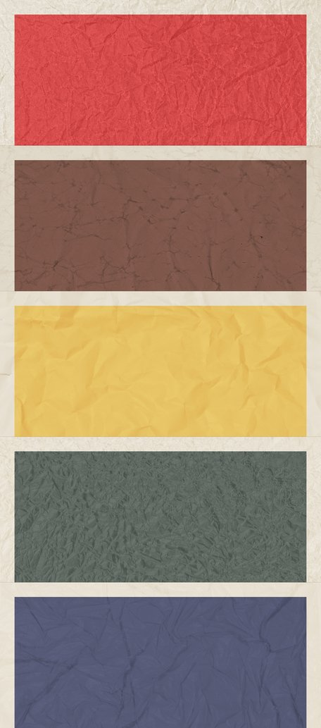 5 Poster enrugada Backgrounds