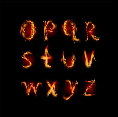 Flame English Letters 01