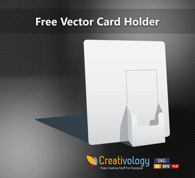 3D Paper Made Card Holder