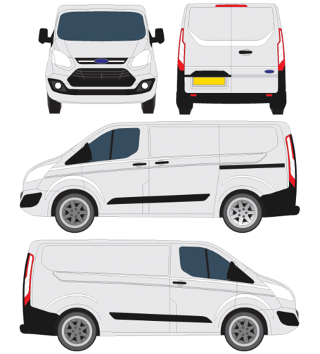 Ford Transit Courier Vector overzicht