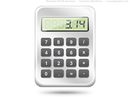 PSD calculatorpictogram web
