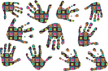 Color Vector Fashion Fingerprints