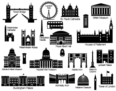 london vectors free, clip arts - clipart