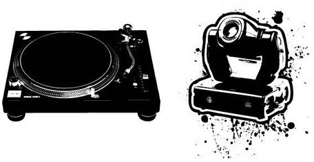 Turntable Vector Art Free