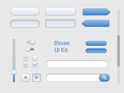 Kit d'interface utilisateur de Bloom