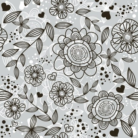 FLORAL patroon VECTOR BACKGROUND.eps