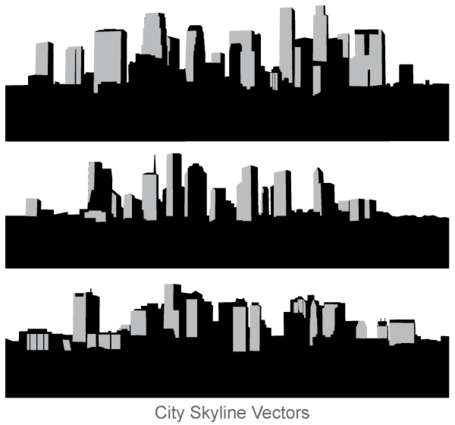Free City Skyline wektorową