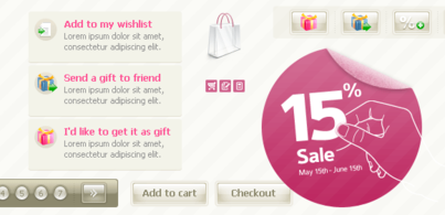 E-Shop festlegen (Free PSD)