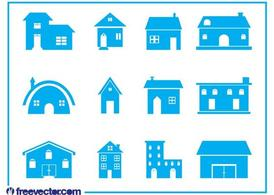 Huis Icon Set