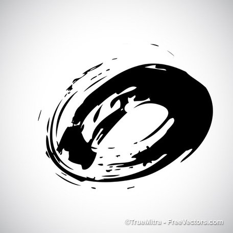 Circular Brush Stroke