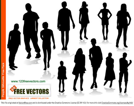 People Silhouettes Free