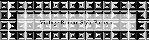 Vintage Roman Vector And Photoshop Pattern