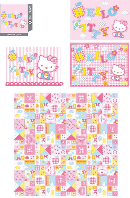 hello kitty officiella Vector 14