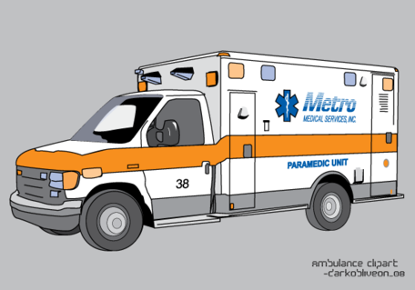 Ambulância Free Vector Art