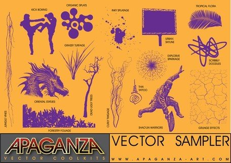 Free Stock Vectors Sample Pack