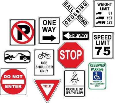 Warning danger road signs, Cliparts - Clipart.me