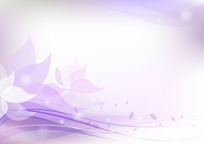 Fluorescent Purplish Floral Background