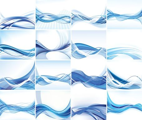 Abstract Vector Hintergrund Set