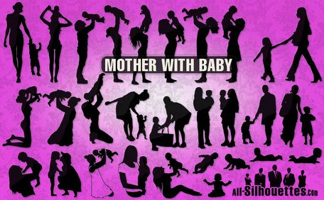28 Mother with baby