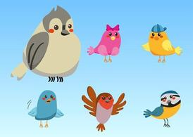 Cute vogels