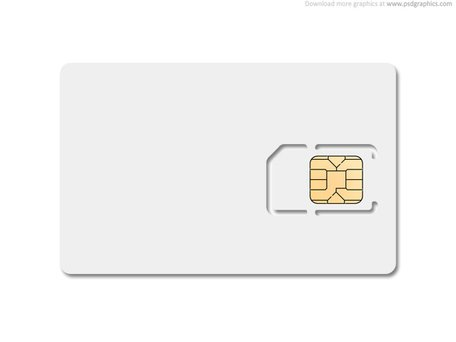Blank Sim Card, Vector Graphics - Clipart.Me