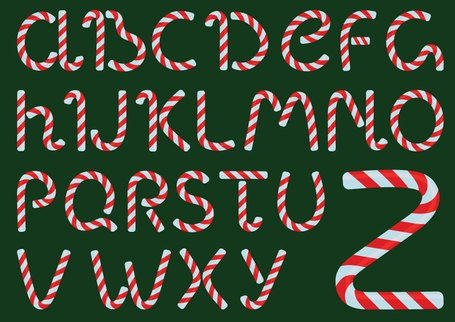 Colorful Vector Font-2