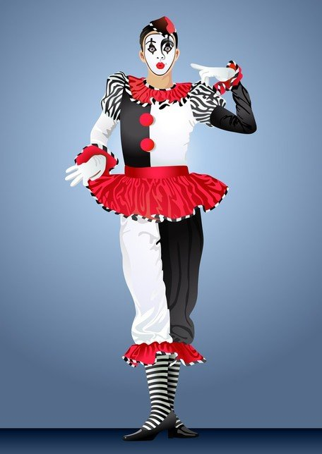 Clown Illustrator 04