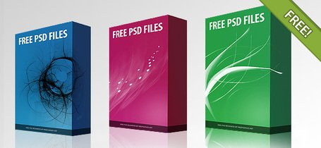 Gratis PSD Software doos