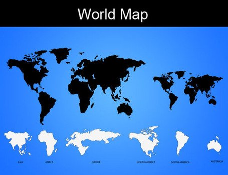 Free vector world map clipart and vector graphics clipart vector world map gumiabroncs Image collections