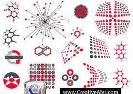 Abstracte creatieve Logo Vector Design Elements