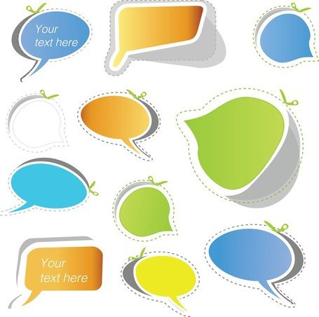 Speech Bubble Sticker