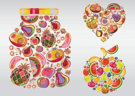 Fruit illustraties