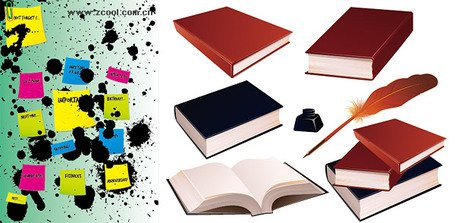 Memo Ink books material