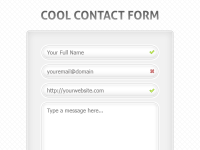 Cool Contact formulier