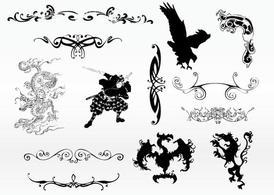 Cool tattoo. Free clipart and vector