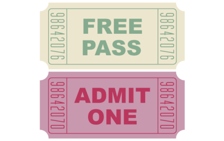 Free Vector Movie Tickets