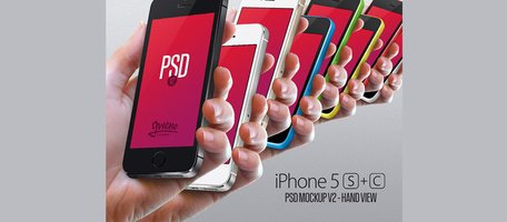 Hand View iPhone 5 s & 5 C-Modell