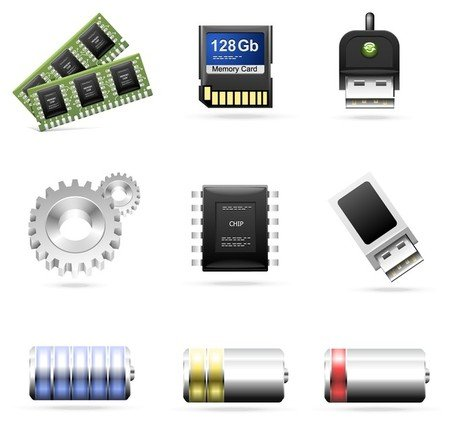 computer accessories theme icon