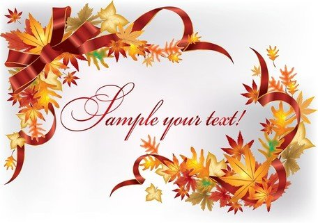 Beautiful Leaves Card 02