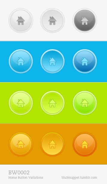 Home Buttons – Variations